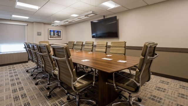 Bellingham Conference Room with large conference table